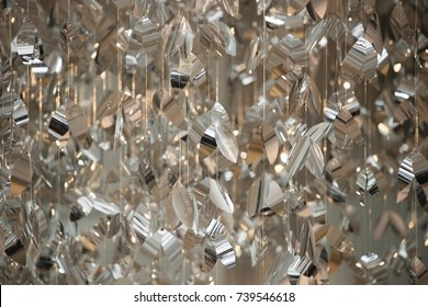 Glitter abstract background.