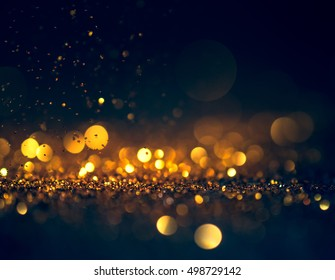 glitter lights grunge background, glitter defocused abstract Twinkly Lights Stars Christmas light Background.