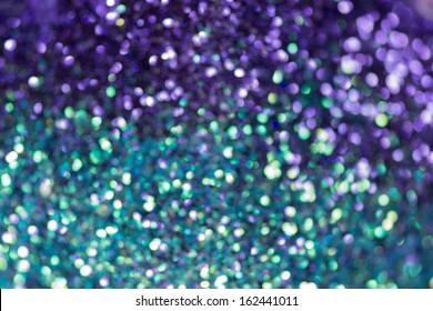 Glitter natural bokeh texture