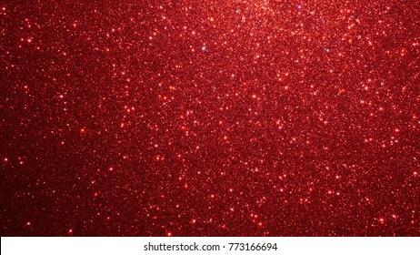 glitter red lights christmas background