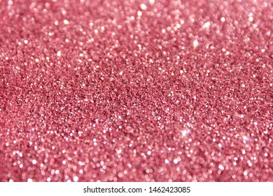Glitter shiny pink color background. Luxury style abstract. Valentine and Christmas gift.