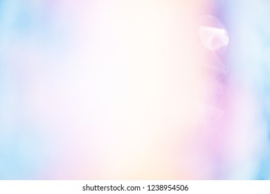 glitter Spectrum light color, soft blur focused, bright color filter for abstract background