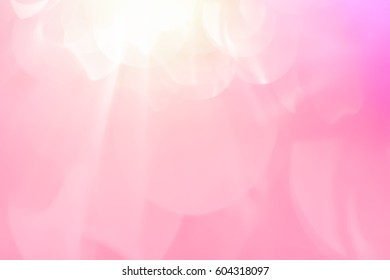 glitter sweet color, bokeh soft color filter for abstract background