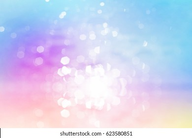 glitter sweet color, focus soft blur bokeh, color filter abstract background
