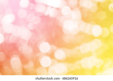 glitter vintage lights with sweet colored background. defocused, abstract colorful defocused circular facula,abstract background