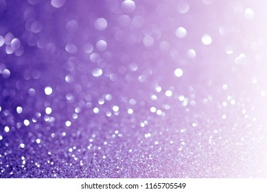 glittering christmas lights. Blurred abstract background