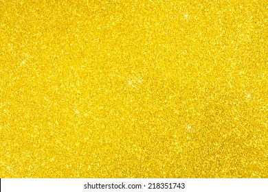 Glittering Gold Flashed