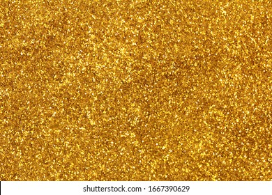 Glittering gold glitter abstract background image