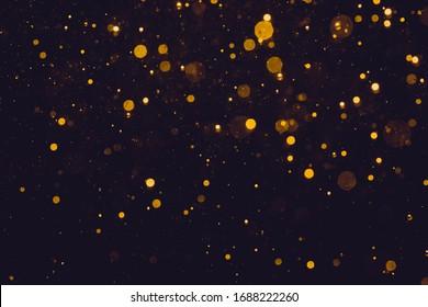 Glittering stars of bokeh use for celebrate background