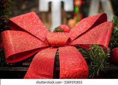 Glittery Christmas bowl
