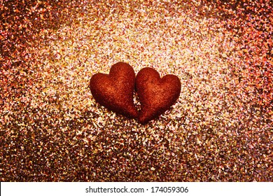 Glittery sparkly valentines backgrounds suitable for cards.