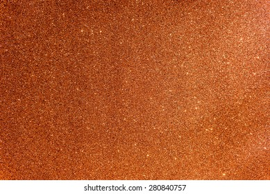 Glittery and Textured Orange Paper, soft focus