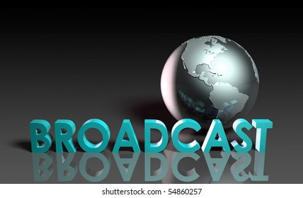 Global Broadcast Technology as Concept in 3d