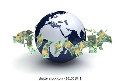 Global Business Australian Currency