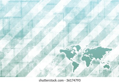 Global Business Color Technology Abstract in Colors