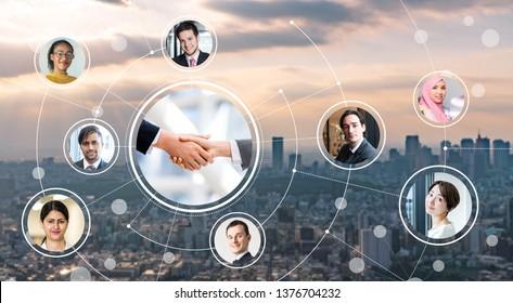 Global business concept. Globalization. Diversity.