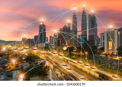 global business Technology GPS transport Use tracking