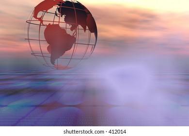 Global data circulation
