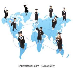 global graduation Student social network