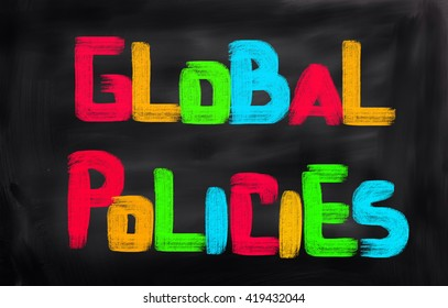 Global Policies Concept