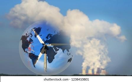 Global Responsibility, Energy Change Fossil - Regenerative