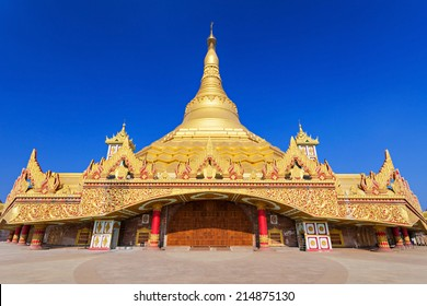 The Global Vipassana Pagoda is a Meditation Hall in Mumbai, India