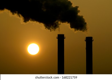 Global Warming, Air Pollution, Chimneys