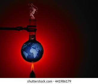 Global warming image?? /Boiling