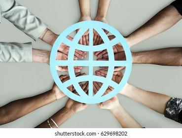Globalisation Communication Network Connection Worldwide