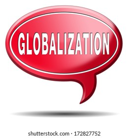 globalization global open market international worldwide trade and economy