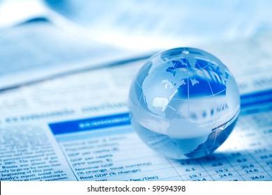 Globe on financial report