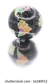 Globe with Reflection