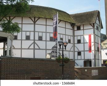 Globe Theatre in London, England