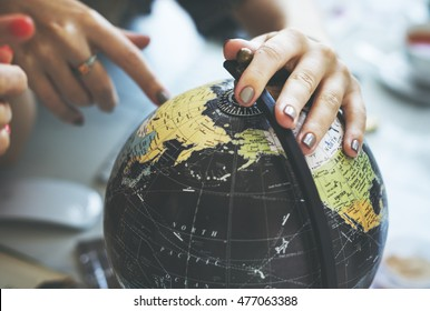 Globe World Map Travel Explore Destination Concept