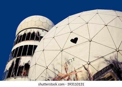 teufelsberg, radar station, to listen, dome   Pikist