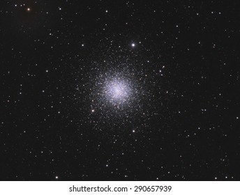Globular Cluster M3 - is a cluster of stars about 34,000 light years away in the constellation Canes Venatici. This cluster contains about 500,000 stars and is about 8 billion years old.