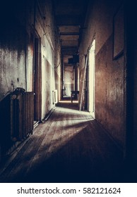 Gloomy corridor