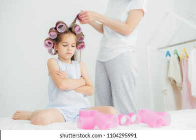 Mom With Curlers Images Stock Photos Vectors Shutterstock