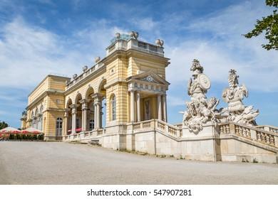 Gloriette at Schoenbrunn Palace Gardens, Vienna, Austria