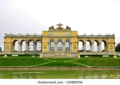 Gloriette in Schoenbrunn Palace park-Vienna,Austria.