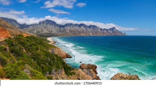 The glorious Clarence Drive between Gordon's Bay and Rooi Els. Cape Town. Western Cape. South Africa