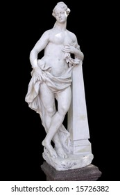 Glory,  a sculptor Baratta,1718 year