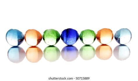 Glossy crystal balls