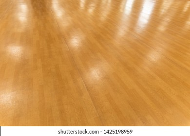 Glossy floor material for hall of ballet dance