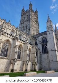 Gloucester cathedral after recent regeneration