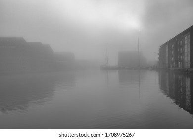 Gloucester Dock in the Fog