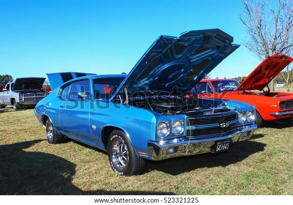 2016 Chevelle Ss >> Gloucester Virginia November 12 2016 1970 Stock Photo Edit
