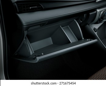 glove compartment of cars