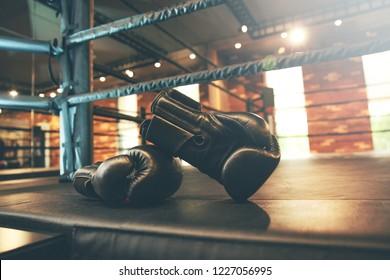 glove in gym