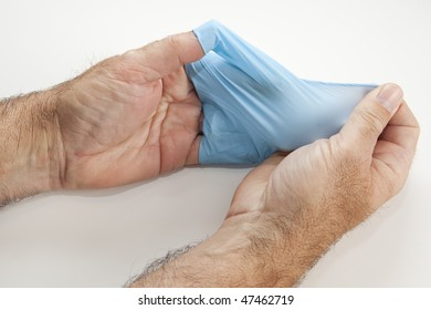 Glove Left Pull